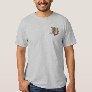 T-shirt Brodé Léopard