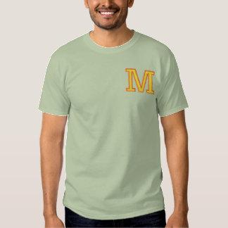 T-shirt Brodé Lettre M