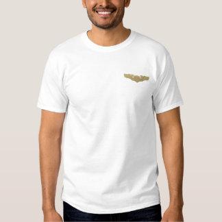 T-shirt Brodé L'insigne du pilote de l'Armée de l'Air