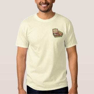 T-shirt Brodé Logo de boîte à cigares