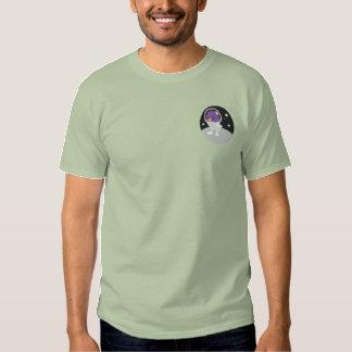 T-shirt Brodé Logo de société de Tweep de l'espace seulement