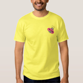 T-shirt Brodé Madame Bug