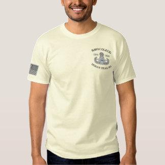 T-shirt Brodé Maître de NAVSCOLEOD