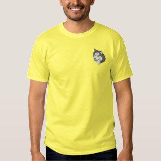 T-shirt Brodé Malamute d'Alaska