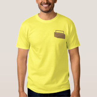 T-shirt Brodé Panier