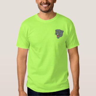 T-shirt Brodé Panthère