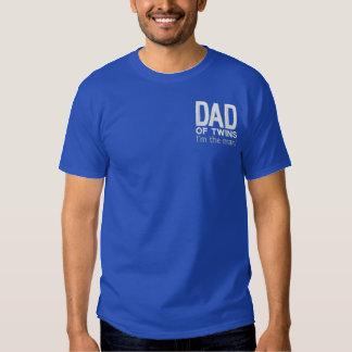 T-shirt Brodé PAPA DES JUMEAUX je suis l'homme !