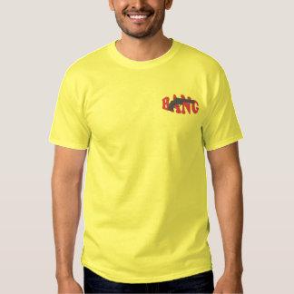 T-shirt brodé par coup