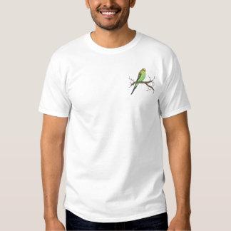 T-shirt Brodé Perruche