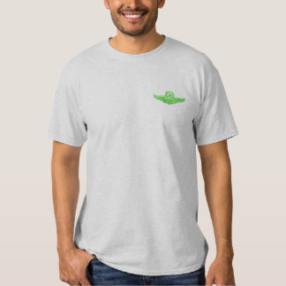 T-shirt Brodé Petit pilote de commande