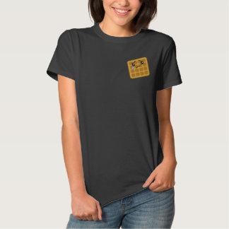 T-shirt Brodé Pièce en t brodée par gaufre triste