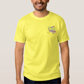 T-shirt Brodé Quadruple de tambour