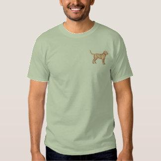 T-shirt Brodé Retriever de la Baie de Chesapeake