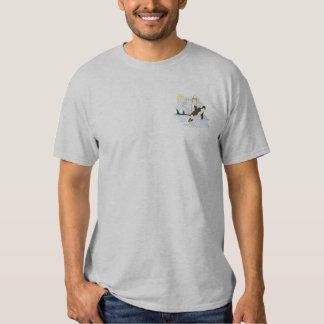 T-shirt Brodé Scène d'orque