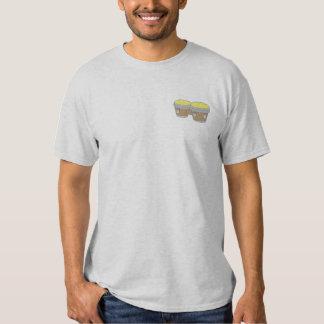 T-shirt Brodé Tambours de bongo