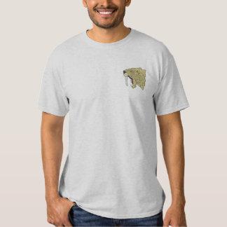 T-shirt Brodé tigre de Sabre-dent
