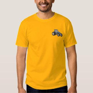 T-shirt Brodé tracteur des années 90