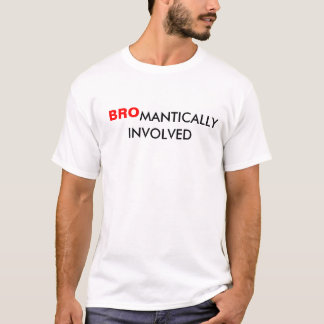 T-SHIRT BROMANTICALLY IMPLIQUÉ
