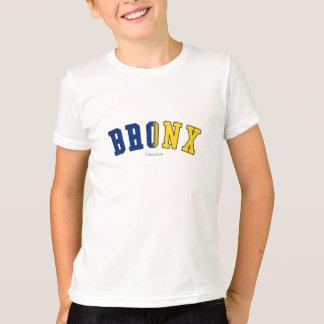 T-shirt Bronx dans des couleurs de drapeau de l'état de