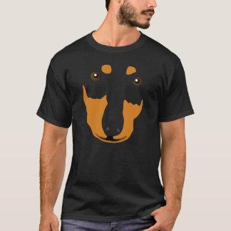 T-shirt Bruce, Dachshund