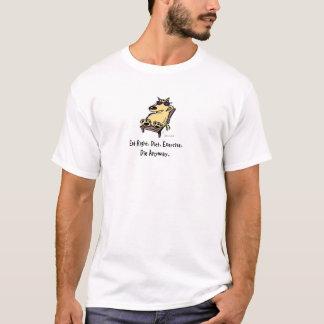 T-shirt Bruce le chien - mangez juste