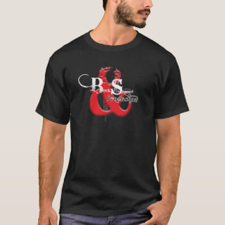 T-shirt bruit de bac de teinture et production
