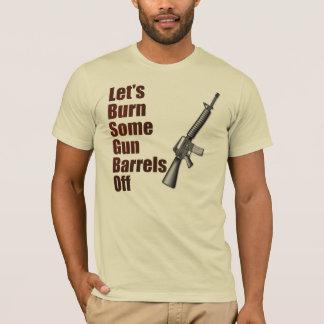 T-shirt Brûlons quelques tubes de canon