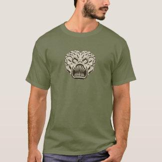 T-shirt Brun clair martien - attaque à partir de Mars