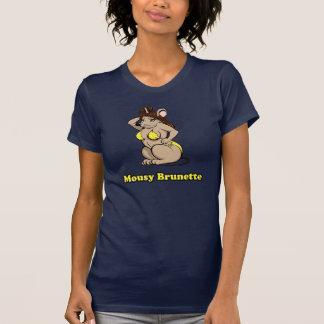 T-shirt Brune timide
