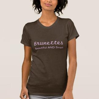T-shirt Brunes, beau ET futé