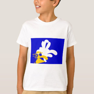 T-shirt Bruxelles-Drapeaux
