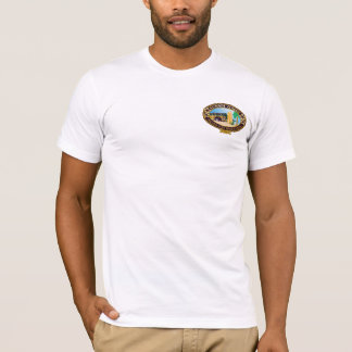 T-shirt BT216W - pièce en t classique de Waikiki de 1946