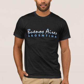 T-shirt Buenos Aires sur le tissu foncé