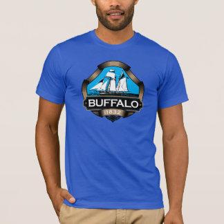T-shirt buffle bleu 1832