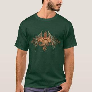 T-shirt Buste de Batman avec des Flourishes