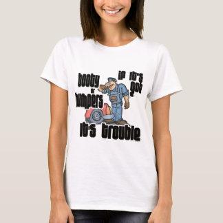 T-shirt Butin drôle ou pare-chocs de mécanicien