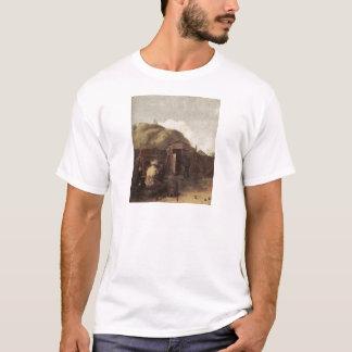 T-shirt Buveurs assis par Brouwer d'Adriaen