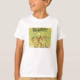 T-shirt Buvez bruyamment ! Odie, la chemise de l'enfant