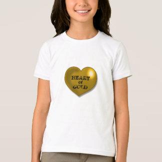 T-shirt C?ur d'or
