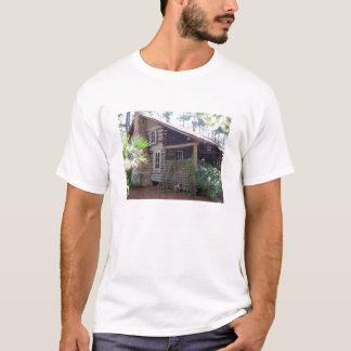 T-shirt Cabane en rondins