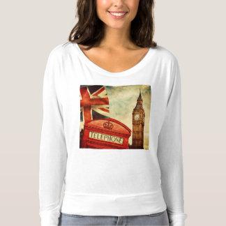 T-shirt Cabine téléphonique rouge et Big Ben à Londres,