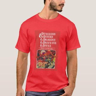 T-shirt Cachots et wagon-restaurants et dragons et
