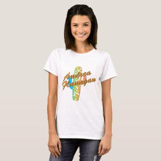 T-shirt Cactus heureux d'Andrea Flanagan