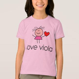 T-shirt cadeau d'amant d'alto d'iLove