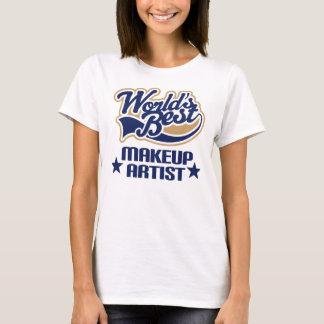 T-shirt Cadeau de maquilleur (mondes meilleurs)
