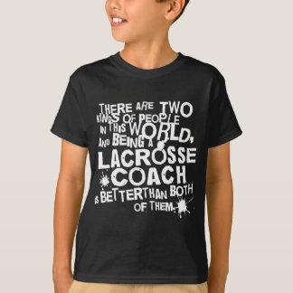 T-shirt Cadeau d'entraîneur de lacrosse
