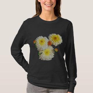 T-shirt Cadeau jaune de chrysanthème