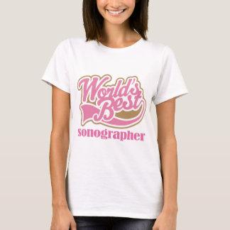 T-shirt Cadeau rose de Sonographer
