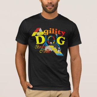 T-shirt Cadeaux d'agilité de border collie