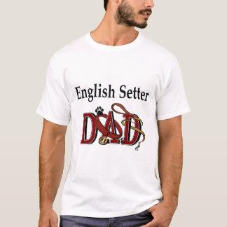 T-shirt Cadeaux de papa de poseur anglais